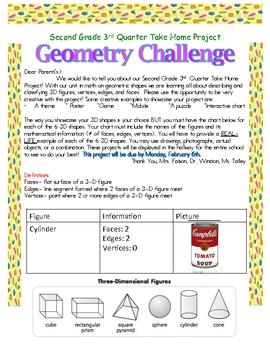 3D Shapes Geometry Homework Project