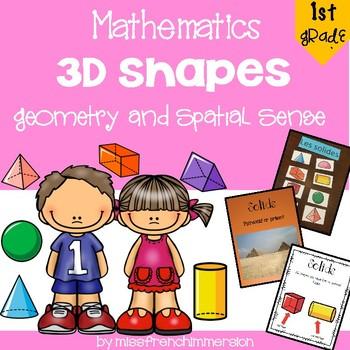 3D Shapes - Grade 1