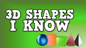 3D Shapes I Know (video)