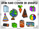 3D Shapes: Includes 8 Interactive Activities