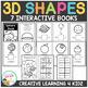 3D Shapes Interactive Book Bundle