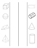 3D Shapes Interactive Notes