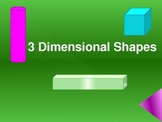 3D Shapes- Introduction and Assessment Piece