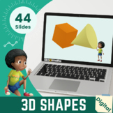 3D Shapes - Kindergarten, Year 1