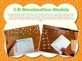 3D Shapes Marshmallow Models Freebie