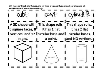 3D Shapes Match