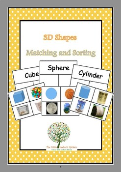 3D Shapes Matching and Sorting