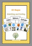 3D Objects Matching and Sorting