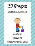 3D Shapes: Math Stations