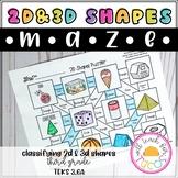 3D Shapes Maze 3.6A