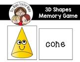 3D Shapes Memory