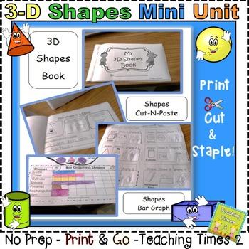 3D Shapes Mini Unit