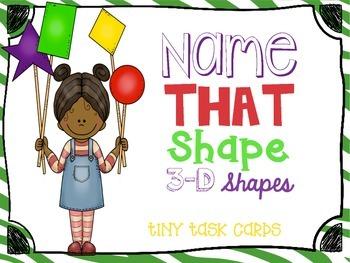 3D Shapes Name that Shape
