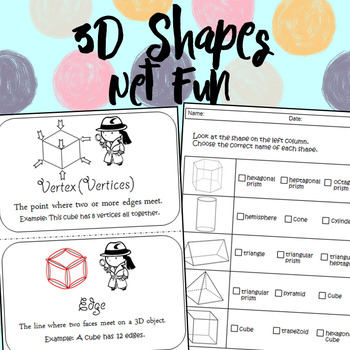 3D Shapes Net Fun