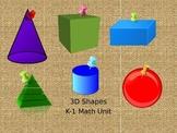 3D Shapes PPT (Math)