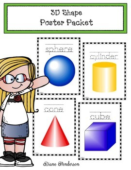 3D Shapes Packet