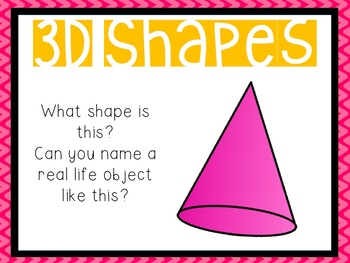 3D Shapes Power Point