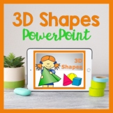 3D Shapes PowerPoint