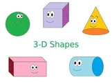 3D Shapes Presentation