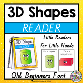 3D Shapes Reader QLD Beginners Font