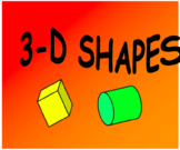 3D Shapes Revision Lesson