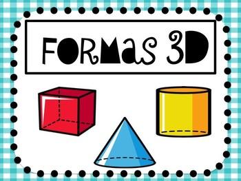 3D Shapes SPANISH- Cuerpos Geométricos 3D