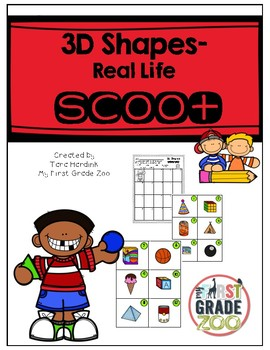 3D Shapes - Scoot Game