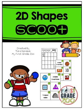 2D Shapes - Scoot Game