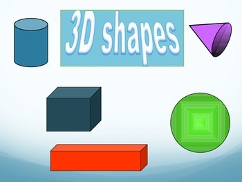 3D Shapes, Sides, and Edges