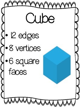 3D Shapes (Solid Shapes) Activity Pack Resources