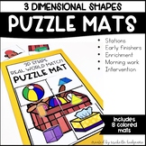 3D Shapes, Solid Shapes, Kindergarten,First Grade, Second