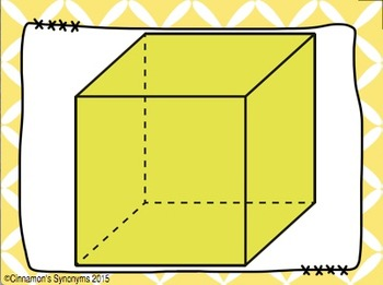 3D SHAPES Spot It & Steal It Math Game & Word Wall
