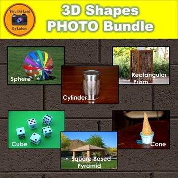 3D Shapes Stock Photo Bundle
