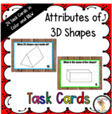 3D Shapes Task Cards