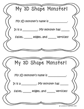 3D Shapes & Their Attributes