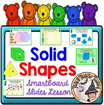 3D Solid Shapes 3-D Three Dimensional Shapes Geometry Smar