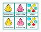 3D Shapes Montessori Three Part Cards