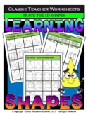 3D Shapes - Trace the Shapes - Grades 3-4 (3rd-4th Grade)