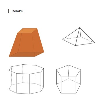 3D Shapes Unit