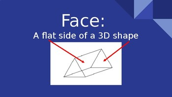 3D Shapes Vocabulary PowerPoint!
