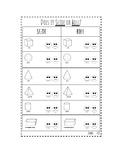 3D Shapes Worksheet Pack