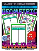 Sorting 3D Shapes and 2D Shapes - Cut and Paste - Grades 2-3 (2nd-3rd Grade)