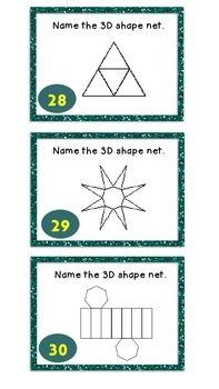 3D Shapes and their Nets