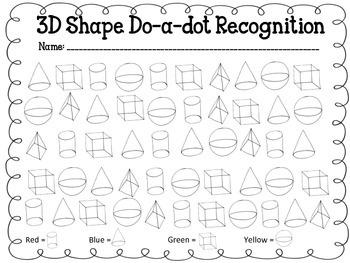 3D Shapes games for Kindergarten