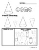 3D Shapes in Spanish (Figuras geométricas - formas 3D)