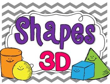 3D Shapes {mini unit}