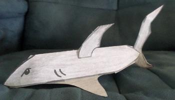 3D Shark Craft!