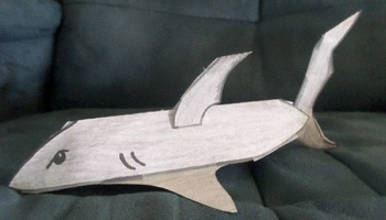 3D Shark Craft!