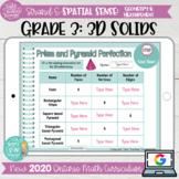 3D Solids Grade 3 2020 Ontario Math DIGITAL Google Slides