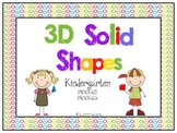 3D Solid Shapes Mini-Pack